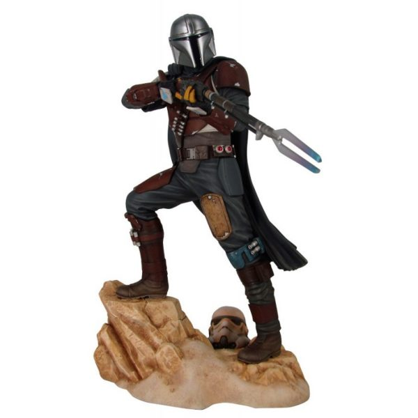 THE MANDALORIAN STATUETTE 1-7 STAR WARS PREMIER COLLECTION GENTLE GIANT 29 CM 699788839294 kingdom-figurine.fr