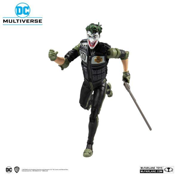 WHITE KNIGHT JOKER FIGURINE DC MULTIVERSE McFARLANE TOYS 18 CM (2) 787926154078 kingdom-figurine.fr