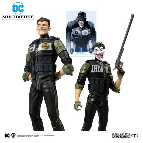 WHITE KNIGHT JOKER FIGURINE DC MULTIVERSE McFARLANE TOYS 18 CM (3) 787926154078 kingdom-figurine.fr