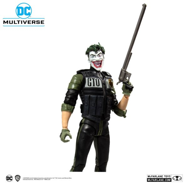 WHITE KNIGHT JOKER FIGURINE DC MULTIVERSE McFARLANE TOYS 18 CM (4) 787926154078 kingdom-figurine.fr