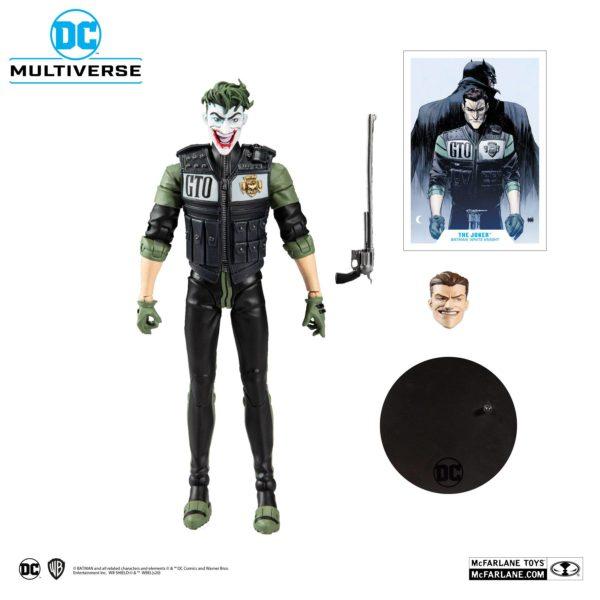 WHITE KNIGHT JOKER FIGURINE DC MULTIVERSE McFARLANE TOYS 18 CM 787926154078 kingdom-figurine.fr
