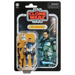 ARC TROOPER FIVES FIGURINE STAR WARS THE CLONE WARS VINTAGE COLLECTION HASBRO 10 CM 5010993749522 kingdom-figurine.fr
