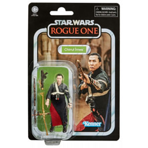 CHIRRUT IMWE FIGURINE STAR WARS ROGUE ONE VINTAGE COLLECTION HASBRO 10 CM (0) 5010993749539 kingdom-figurine.fr