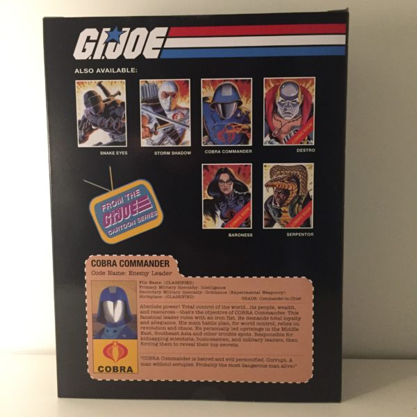 COBRA COMMANDER STATUETTE 1-8 GI JOE POP CULTURE SHOCK 24 CM 656793638342 kingdom-figurine.fr (2)