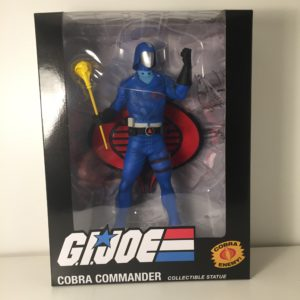 COBRA COMMANDER STATUETTE 1-8 GI JOE POP CULTURE SHOCK 24 CM 656793638342 kingdom-figurine.fr