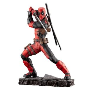 DEADPOOL STATUETTE 1-6 MARVEL FINE ART KOTOBUKIYA 30 CM 4934054012527 kingdom-figurine.fr