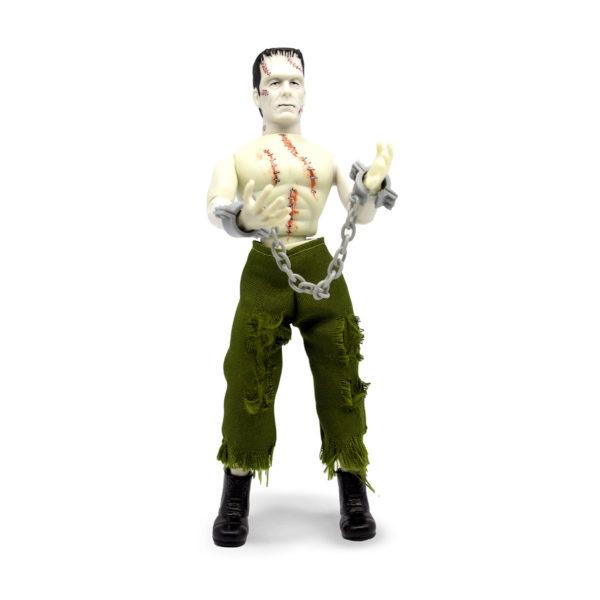 FRANKENSTEIN BARE CHEST FIGURINE FRANKENSTEIN MEGO 20 CM (2) 850003511726 kingdom-figurine.fr