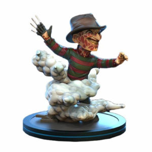 FREDDY KRUEGER Q-FIG FIGURINE NIGHTMARE ON ELM STREET QUANTUM MECHANIX 10 CM 812095024713 kingdom-figurine.fr