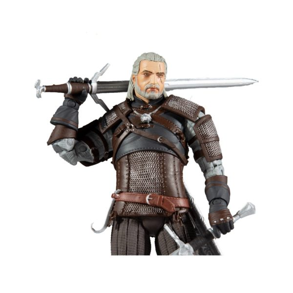 GERALT FIGURINE THE WITCHER McFARLANE TOYS 18 CM 787926134018 kingdom-figurine.fr (6)