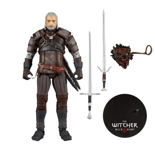 GERALT FIGURINE THE WITCHER McFARLANE TOYS 18 CM 787926134018 kingdom-figurine.fr (7)