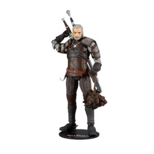 GERALT FIGURINE THE WITCHER McFARLANE TOYS 18 CM 787926134018 kingdom-figurine.fr