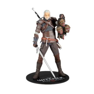 GERALT FIGURINE THE WITCHER McFARLANE TOYS 30 CM 787926134414 kingdom-figurine.fr