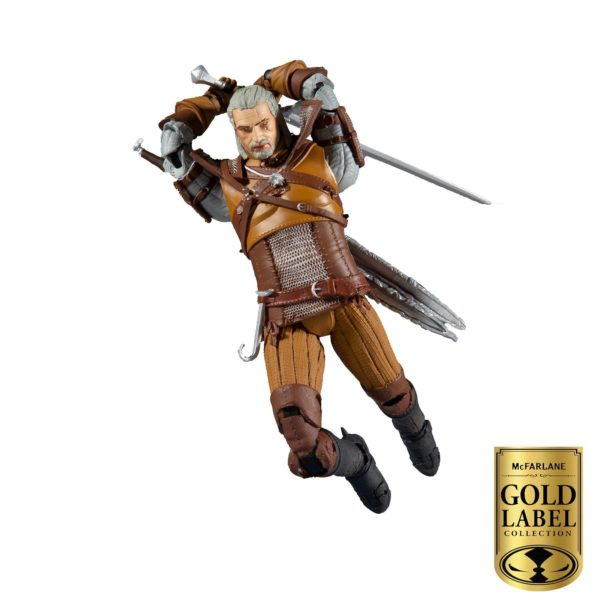 GERALT OF RIVIA FIGURINE THE WITCHER GOLD LABEL SERIES McFARLANE TOYS 18 CM 787926134032 kingdom-figurine.fr (2)
