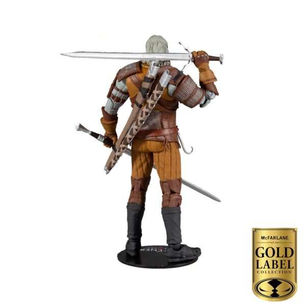 GERALT OF RIVIA FIGURINE THE WITCHER GOLD LABEL SERIES McFARLANE TOYS 18 CM 787926134032 kingdom-figurine.fr (4)