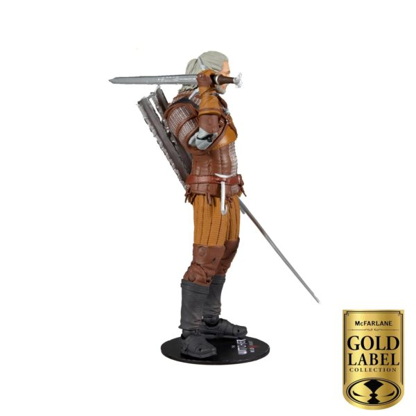 GERALT OF RIVIA FIGURINE THE WITCHER GOLD LABEL SERIES McFARLANE TOYS 18 CM 787926134032 kingdom-figurine.fr (5)