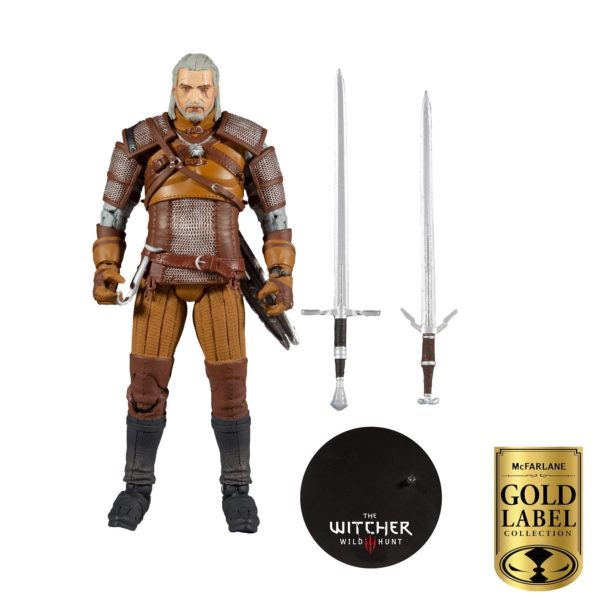GERALT OF RIVIA FIGURINE THE WITCHER GOLD LABEL SERIES McFARLANE TOYS 18 CM 787926134032 kingdom-figurine.fr