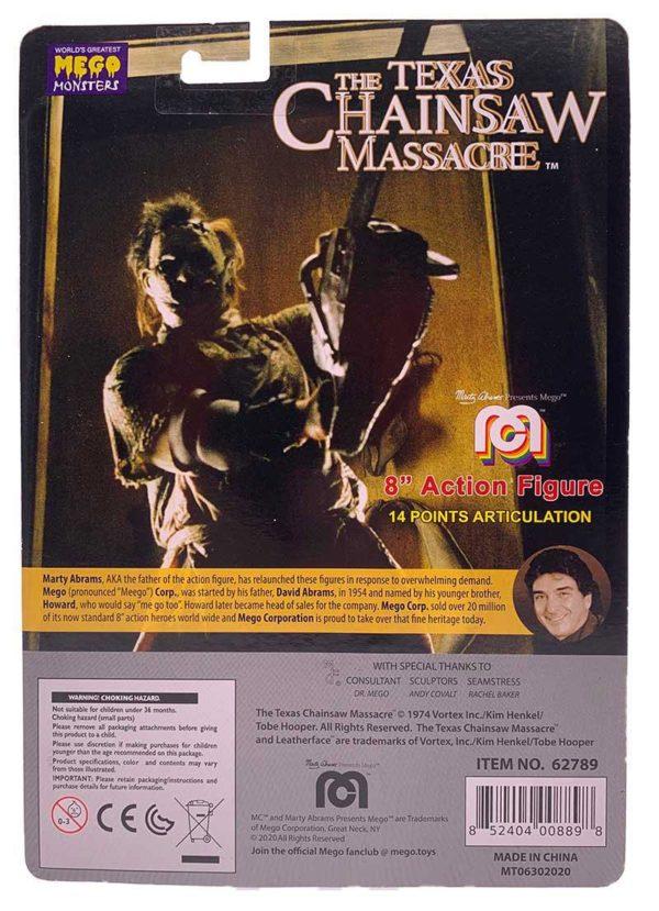 LEATHERFACE FIGURINE MASSACRE A LA TRONÇONNEUSE MEGO 20 CM 852404008898 kingdom-figurine.fr (4)