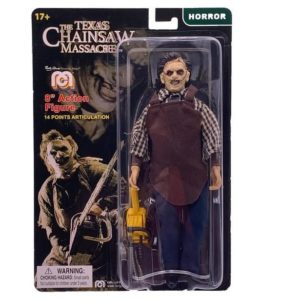 LEATHERFACE FIGURINE MASSACRE A LA TRONÇONNEUSE MEGO 20 CM 852404008898 kingdom-figurine.fr
