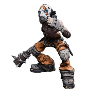 PSYCHO BANDIT FIGURINE BORDERLANDS MINI EPICS WETA 9420024730348 kingdom-figurine.fr