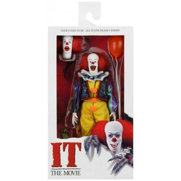 RETRO PENNYWISE FIGURINE IL EST REVENU 1990 NECA 20 CM (5) 634482454725 kingdom-figurine.fr