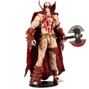 SPAWN BLOODY FIGURINE MORTAL KOMBAT 4 McFARLANE TOYS 18 CM 787926110241 kingdom-figurine.fr