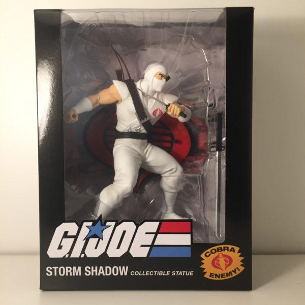 STORM SHADOW STATUETTE 1-8 GI JOE POP CULTURE SHOCK 656793638366 kingdom-figurine.fr
