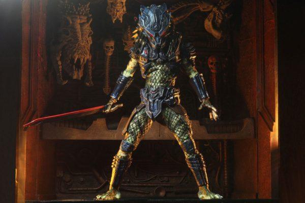 ARMORED LOST PREDATOR FIGURINE ULTIMATE PREDATOR 2 NECA 20 CM 634482515853 kingdom-figurine.fr (10)