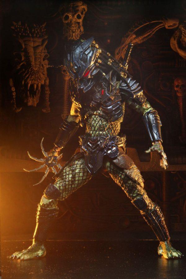 ARMORED LOST PREDATOR FIGURINE ULTIMATE PREDATOR 2 NECA 20 CM 634482515853 kingdom-figurine.fr (6)