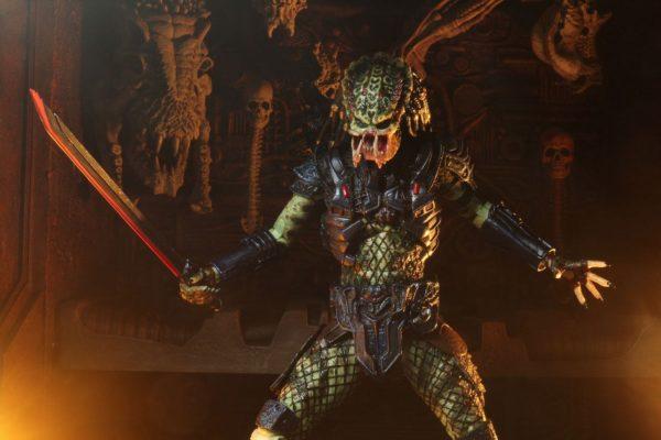 ARMORED LOST PREDATOR FIGURINE ULTIMATE PREDATOR 2 NECA 20 CM 634482515853 kingdom-figurine.fr (9)