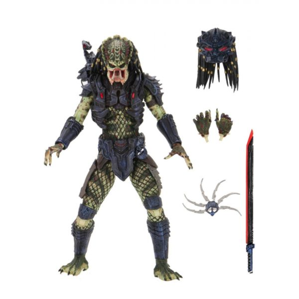 ARMORED LOST PREDATOR FIGURINE ULTIMATE PREDATOR 2 NECA 20 CM 634482515853 kingdom-figurine.fr