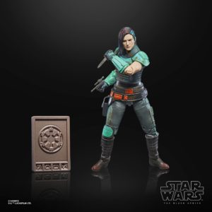 CARA DUNE FIGURINE STAR WARS THE MANDALORIAN CREDIT COLLECTION HASBRO 15 CM 5010993772254 kingdom-figurine.fr (3)