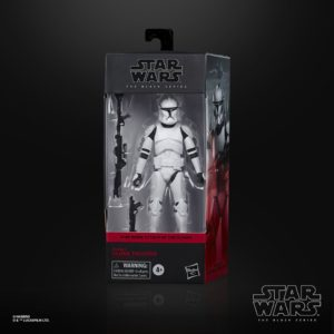 CLONE TROOPER PHASE 1 FIGURINE STAR WARS EPISODE II BLACK SERIES HASBRO E9367 15 CM 5010993754687 kingdom-figurine.fr