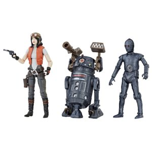 DOCTOR APHRA COMIC SET EXCLUSIVE PACK 3 FIGURINES STAR WARS PREMIUM VINTAGE COLLECTION HASBRO 10 CM 5010993541850 kingdom-figurine.fr