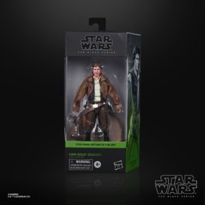 HAN SOLO ENDOR FIGURINE STAR WARS EPISODE VI BLACK SERIES HASBRO E9364 15 CM 5010993754700 kingdom-figurine.fr