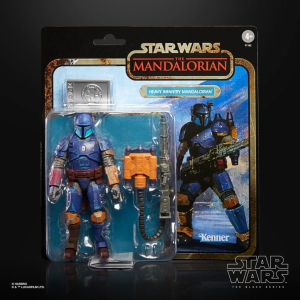 HEAVY INFANTRY MANDALORIAN FIGURINE STAR WARS THE MANDALORIAN CREDIT COLLECTION HABRO 15 CM 5010993772209 kingdom-figurine.fr (8)