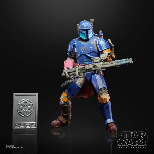 HEAVY INFANTRY MANDALORIAN FIGURINE STAR WARS THE MANDALORIAN CREDIT COLLECTION HABRO 15 CM 5010993772209 kingdom-figurine.fr