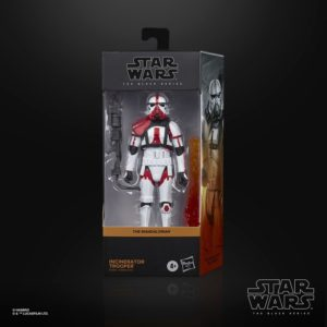 INCINERATOR TROOPER FIGURINE STAR WARS THE MANDALORIAN BLACK SERIES HASBRO E9366 15 CM 5010993754694 kingdom-figurine.fr