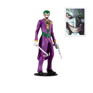 JOKER MODERN COMIC FIGURINE DC MULTIVERSE McFARLANE TOYS 18 CM 787926151329 kingdom-figurine.fr