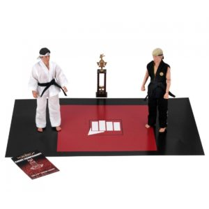 KARATE KID PACK 2 FIGURINES RETRO TOURNAMENT NECA 20 CM 634482191040 kingdom-figurine.fr