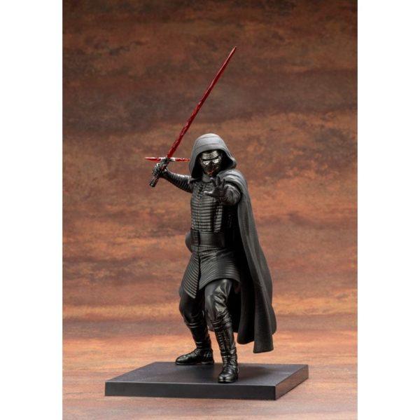 KYLO REN STATUETTE PVC ARTFX+ 110 STAR WARS EPISODE IX KOTOBUKIYA 18 CM 4934054013234 kingdom-figurine.fr
