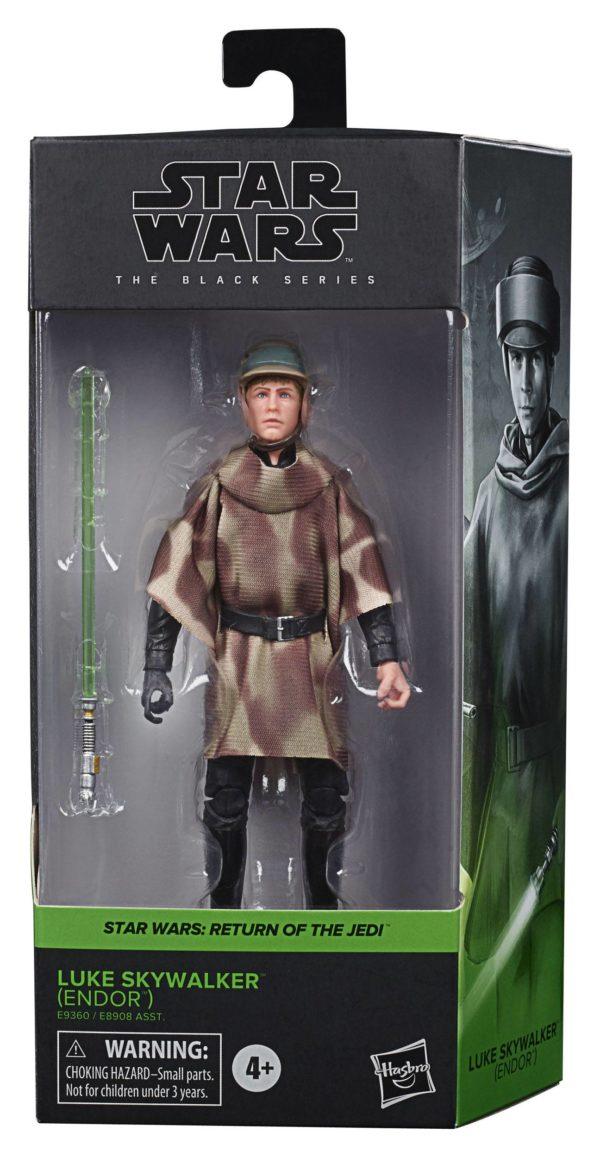 LUKE SKYWALKER ENDOR FIGURINE STAR WARS EPISODE VI BLACK SERIES HASBRO E9360 15 CM 5010993755639 kingdom-figurine.fr (6)