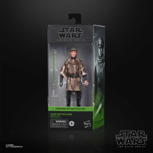 LUKE SKYWALKER ENDOR FIGURINE STAR WARS EPISODE VI BLACK SERIES HASBRO E9360 15 CM 5010993755639 kingdom-figurine.fr