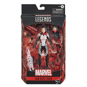 SILK FIGURINE MARVEL LEGENDS SERIES FAN VOTE 2020 HASBRO 15 CM 5010993742271 kingdom-figurine.fr