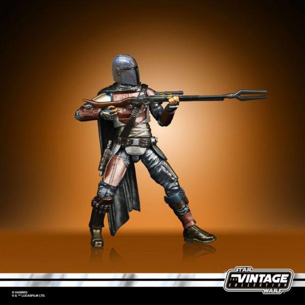 THE MANDALORIAN FIGURINE STAR WARS VINTAGE COLLECTION CARBONIZED HASBRO 10 CM 5010993785520 kingdom-figurine.fr (5)