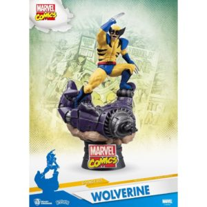 WOLVERINE DIORAMA MARVEL COMICS D-STAGE BEAST KINGDOM 16 CM 710227010534 kingdom-figurine.fr