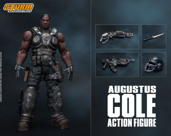 AUGUSTUS COLE FIGURINE 12 GEARS OF WAR 5 STORM COLLECTIBLES 16 CM 4897072870961 kingdom-figurine.fr (13)