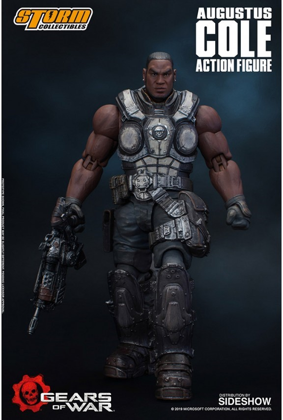 AUGUSTUS COLE FIGURINE 12 GEARS OF WAR 5 STORM COLLECTIBLES 16 CM 4897072870961 kingdom-figurine.fr (2)