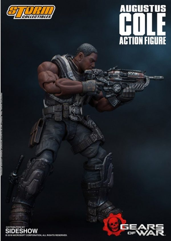 AUGUSTUS COLE FIGURINE 12 GEARS OF WAR 5 STORM COLLECTIBLES 16 CM 4897072870961 kingdom-figurine.fr (5)