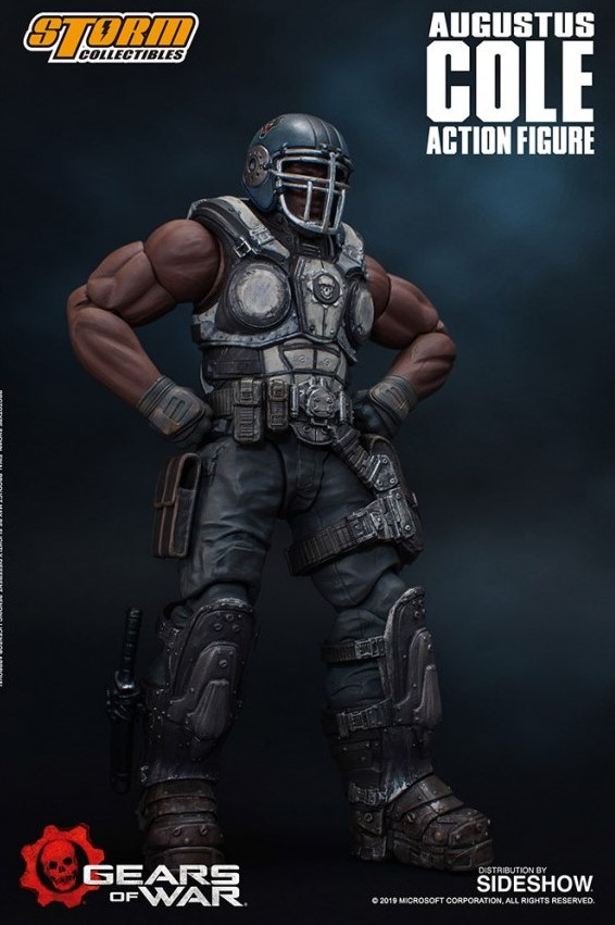 AUGUSTUS COLE FIGURINE 12 GEARS OF WAR 5 STORM COLLECTIBLES 16 CM 4897072870961 kingdom-figurine.fr (8)