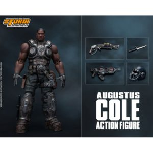 AUGUSTUS COLE FIGURINE 12 GEARS OF WAR 5 STORM COLLECTIBLES 16 CM 4897072870961 kingdom-figurine.fr
